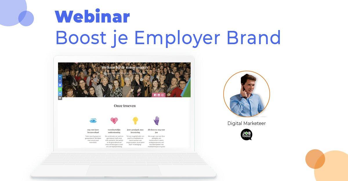 [Live] Boost je Employer Brand